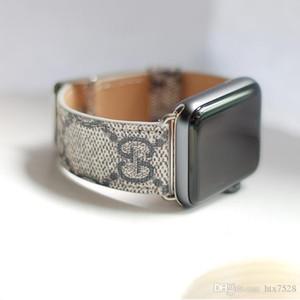 Pour apple watch123 Mode Cuir de marque européenne et américaine pour bracelet de montre iwatch1 / 2/3 38M / 42MM