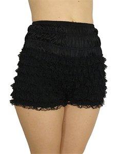 Sexy mujeres niñas de encaje francés de mucama volantes bragas ropa interior con volantes bragas bragas de cintura alta estiramiento seguridad pantalones cortos calientes