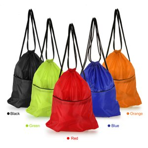 İpli Sırt Su Geçirmez Taşınabilir Katlanır Seyahat Softback Adam Kadın Çanta Depolama İpli Çanta Çocuklar Sırt Çantaları 16L
