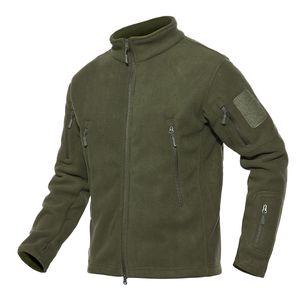 Shanghai Story Army - Veste en polaire à patchwork avec plusieurs poches Veste et manteaux Polartec pour homme