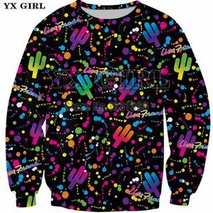 YX GIRL 2018 New Fresh Lisa Frank prince Women Men 3d print hoodies  Clothing size S-5XL Drop shipping