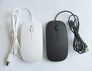 Ratón con cable de fábrica directo ratón óptico usb ratón barato ultradelgado
