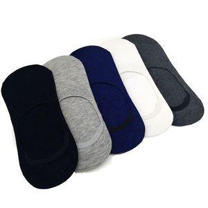 10 pares / lote moda casual homens meias de alta qualidade banboo meias de algodão breve chinelos invisíveis boca rasa masculina não mostrar meia