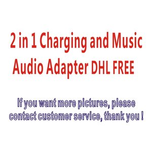 2 in 1 audio switching line charging + listening song supports 10.2 of the following systems.