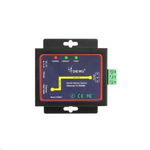 Industrial RS485 Serial Device Server para Ethernet TCP / IP LAN Converter