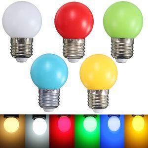 LED Bombilla colorido bombilla LED E27 3W Ampolla luz ahorro de energía colorida pelota de golf del globo ligero de la lámpara Home Bar KTV decoración de iluminación
