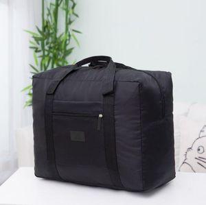 Bolsa de viaje a prueba de agua de nylon Bolsa de almacenamiento de gran capacidad - Equipaje plegable Organizador de cubos de viaje para equipaje (5 colores)