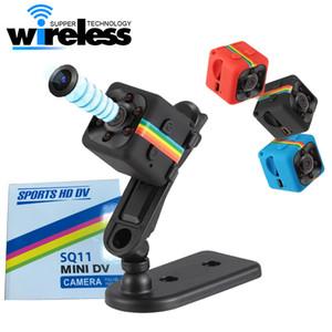 SQ11 كامل HD 1080P للرؤية الليلية كاميرا الفيديو المحمولة ميني مايكرو كاميرات الرياضة مسجل فيديو كاميرا DV كاميرا