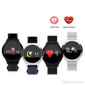 Y7 Smart Watch Steel M7 Monitoraggio della frequenza cardiaca della pressione sanguigna Pedometro Bluetooth Remote Smartwatch Tracker Fitness per iOS Android
