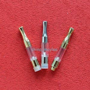 G2 510 Cartucho Tanque 0.5ml 0.8ml 1.0ml Gold SS Metal Drip Tips WAX Atomizador de Vaporizador de Aceite Grueso Para Precalentar la batería