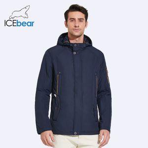 ICEbear 2018 новый большой размер высокое качество зимняя куртка мужская мода куртки куртка Весна повседневная бренд Весна теплое пальто 17MC853D