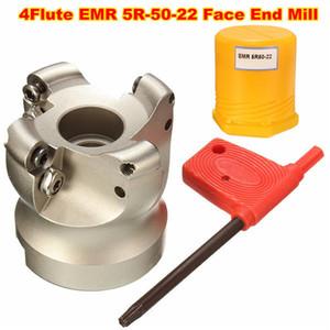 Cesoia di CNC di CNC della taglierina del mulino della fronte della flauto di EMR 5R-50-22 4 per taglio piano