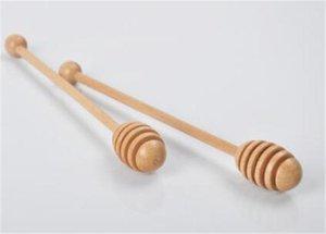 Neue hochwertige hölzerne Honey Stick Dippers Honig rühren Honey Rod Dipper Küchenwerkzeug aus Holz Dippers