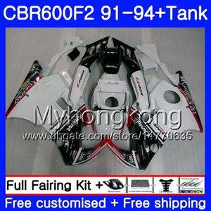 Honda CBR 600 F2 F2 için Vücut CBR600 F2 1991 1992 1993 1994 1MY.AA CBR600FS CBR 600F2 CBR600RR CBR600F2 Yeni Beyaz 91 92 93 94 Fairing Kiti