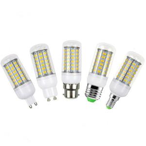 SMD5730 Led 전구 GU10 E27 E14 B22 G9 주도 옥수수 빛 7W 12W 15W 18W LED 스포트 라이트 360도 AC 85-265V