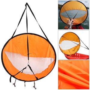 42 pulgadas plegable Kayak Paddle Board viento Vela emergente Paleta de Vela Remo A favor del viento Barco con el envío ventana clara gota, 108 * el 108CM