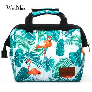 Winmax Frauen Männer Mode Icepack Container Thermal Insulated Picknick Kühl Mittagessen Taschen für Kids Tote tragbare Lunchbox