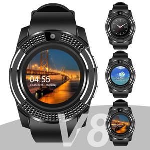Для apple V8 smart watch наручные smartwatch bluetooth Watch с Sim-карты слот для камеры контроллер для iPhone Android Samsung Мужчины Женщины PK DZ09