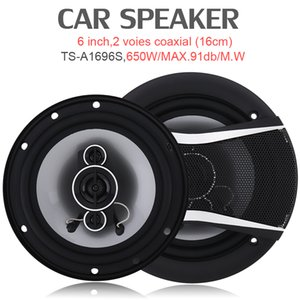TS-A1696S 2pcs 6 Inch 650W Car HiFi Coaxial Speaker Vehicle Door Auto Audio Music Stereo Full Range Frequency Speakers for Cars CSA_00J