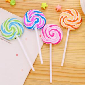 Borradores de dibujos animados Caramelos Borrador de goma divertido Oficina y estudio Regalos para niños Papelería Novedad Lollipop Borradores ZA5948