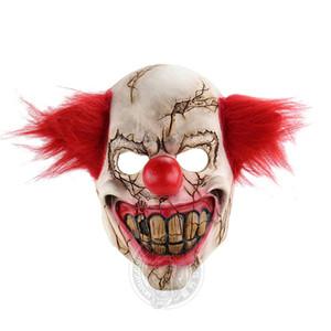 Halloween Costume Acessórios 50% Horror Santo Rosto Partido Bar dança Palhaço Chapelaria Natal engraçado Props latente Joker Máscara assustador