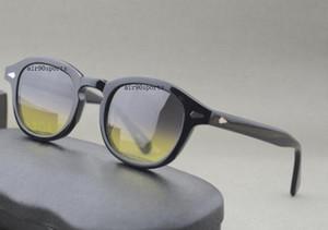 Новый стиль модный бренд Черепаха черные рамки 3size lemtosh солнцезащитные очки мужчины женщины солнцезащитные очки с оригинальной коробке бесплатная доставка