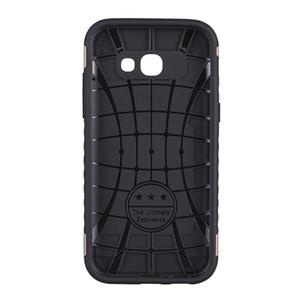 Cassa del telefono per Samsung J6 Plus J3 Prime Soft TPU e Hard PC 2 in 1 Hybrid Armor Cover del telefono posteriore con Kickstand