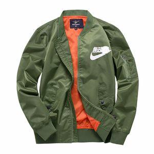 Ma1 Pilot Jackets Merch Bomber Ma -1 Skull Print Stand Collar Men \&#039 ;S Sweatshirt High Quality Zipper Casual Outdoor Men &#03