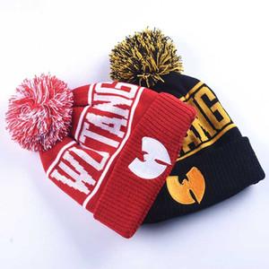 Wutang Gorros inverno chapéus outono malha chapéu de lã cap chapéu da forma hip hop hip-hop chapéu ao ar livre gorro de esqui quentes chapéus 20pcs CNY817