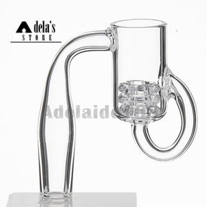 Diamond Loop Cuarzo Banger Nudo de Aceite Reciclador de nudo de Carb Tapa Insertar Tazón 10 mm 14 mm Hombre Mujer Tubos de agua Dab Rigs 675