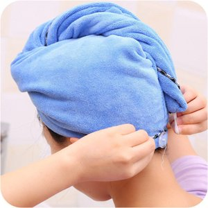 micfabric Wash Towel Quick Dry Drying Bathing Wrap Caps Thicken Plush Shower Caps