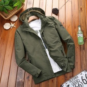 DAFEILI взрослые осени ветровки люди весна куртка мужская одежда сафари пальто