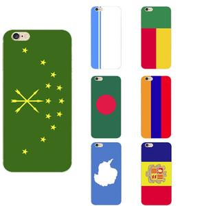 Adygea República de Altai Andorra la Antártida Armenia Bangladesh de la bandera nacional de Benin casos de TPU tema del teléfono para el iPhone 6 / 6s / 7 / 7s / 8s / X