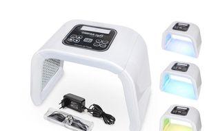 New 7 Color OMEGA Light Detachable Photon Therapy Machine LED Facial Mask PDT Light For Skin Rejuvenation Acne Remover salon SPA Device zzh