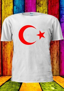 Türkische Flagge Türkei Istanbul Osmanischen T-shirt Weste T Tops Männer Frauen Cartoon T-shirt Männer Unisex Neue Mode T-shirt Lose