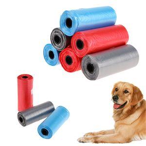 2018 Hot Pet Dog Waste Poop Plastiktüte Pet Dog Aufräumbeutel Einweg-Plastikmüllbeutel für den Haushalt