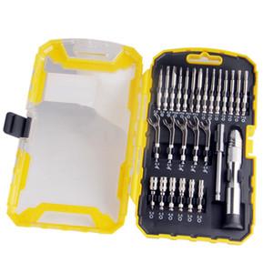 Freeshipping 27Pcs / lot ensemble d'outils tournevis de précision ensemble clé à douille avec kit de barre d'extension ensemble de réparation de téléphone mobile outils à main multiples