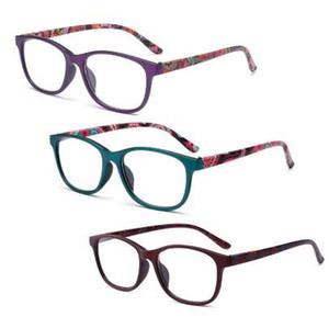 Moda Okuma Gözlükleri Şeffaf Lensler Presbiyopik Reçete Okuma Gözlük Erkekler kadın Gözlük ile Diopter W715