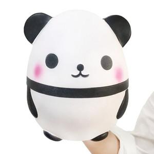 2018 más calientes de la panda de Kawaii Squishies huevo blando super suave lento aumento de Jumbo Squeeze encanto del teléfono crema perfumada Reducir la presión de DHL juguete