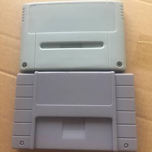 Remplacement 16 bits cartouche de jeu en plastique carte de jeu Shell Box pour SNES SFC boîtier de jeu (version US JP UE) haute qualité FAST SHIP