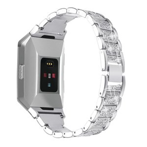 Accessori Smart di lusso per Fitbit Ionic Cinturino in acciaio inossidabile con cinturino di ricambio Smart Watch Band in metallo per Fitbit Ionic