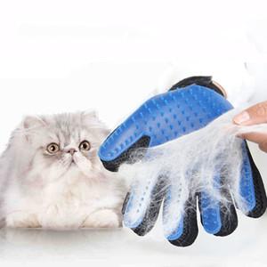 Silicone Pet Brush Glove Chat Chien Toilettage Peigne Furminat pour Chat Chien Bain De Nettoyage Brosse Deshedding Gentl Efficient Hair Removal