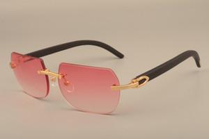 الزخرفية الرجال وA8100906 الخشب الصلب السوداء المعابد نظارات شمسية نسائية نظارات شمس إطار خشبي جميع النظارات الشمسية الطبيعي الحجم: 56-18-135mm