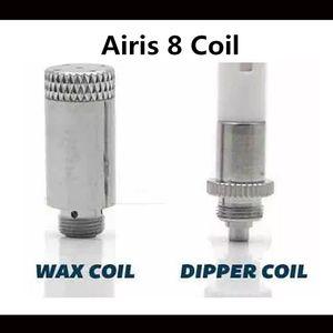 100% d'origine Airis 8 tête de bobine de rechange C1 Dipper C2 bobines de cire pour le kit de vaporisateur Airis 8 de haute qualité DHL