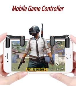 Telefone Gamepad Trigger Fire Botão Sensível Shoot e Aim Chaves L1 / R1 Shooter Joystick para PUBG / Regras de Sobrevivência