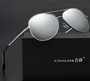 Sun Men Hot Mental Men's Men's Eyewear Eyeglass الإطار الاستقطاب الظل الكلاسيكي النظارات الشمسية A103 النظارات الشمسية عدسة A360 نظارات نظارات Duodj