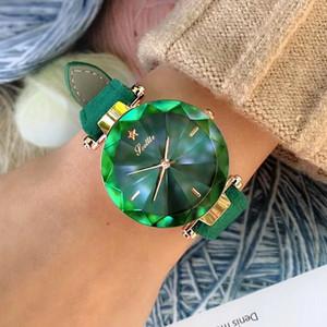 Kadın Izle Scottie Marka İzle Sıcak Deri Kayış Kişilik Elmas Cam Narin Kadın Saatler