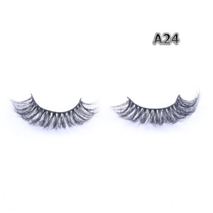 Handmade Mink Strip Eyelashes Reusable 3D Real Mink Hair Lashes Private Label Top Quality Cheap Price FDshine