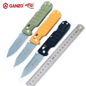 Firebird Ganzo G735 58-60HRC 440C blade G10 handle folding knife outdoor tactical camping EDC tool Hunting Pocket Knife