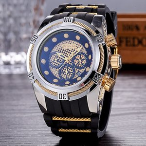 Швейцарский ETA часы DZ мужских Спортивня часы Relogio наручные часы военного Мужчина для часов хорошего подарок INVICTA челнок